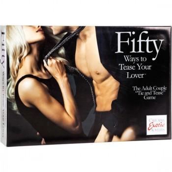 CALEX FIFTY WAYS TO TEASE YOUR LOVE KIT PARA PAREJAS