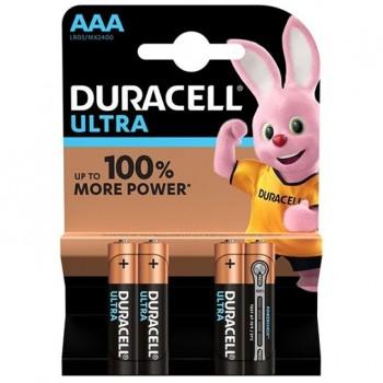 DURACELL ULTRA POWER PILA ALCALINA AAA LR03 BLISTER4