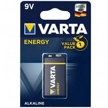 VARTA ENERGY PILA ALCALINA 9V LR61 BLISTER1