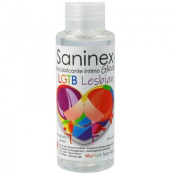 SANINEX EXTRA LUBRICANTE INTIMO GLICEX LESBIAN 100 ML