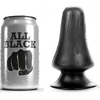 ALL BLACK ANAL PLUG 12CM