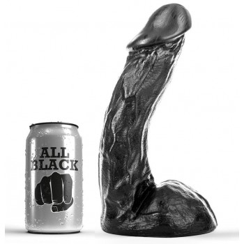 ALL BLACK DONG 23CM