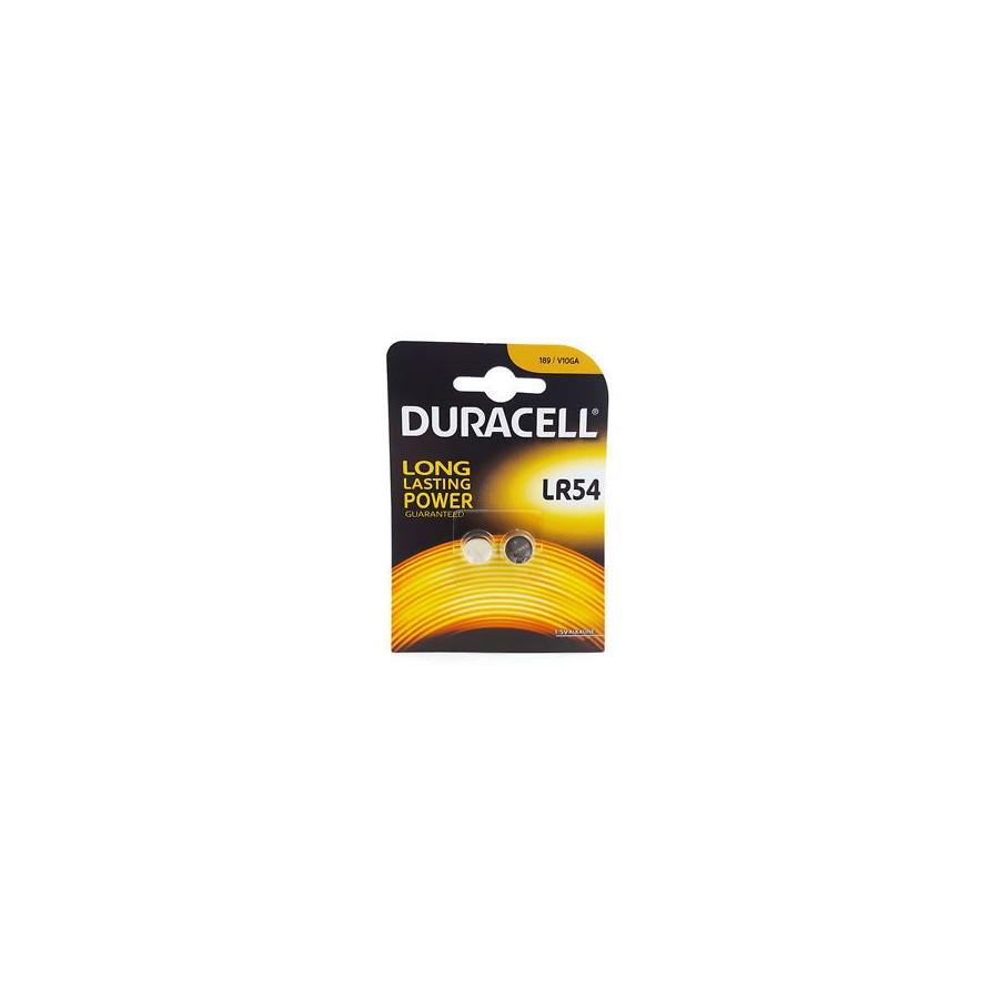 DURACELL PILA BOTON ALCALINA LR54 LR1130 AG10 15V BLISTER2