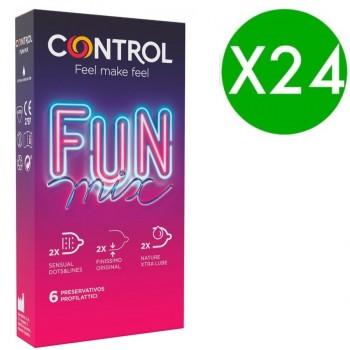 CONTROL FEEL FUN MIX 6 UDS PACK 24 UDS